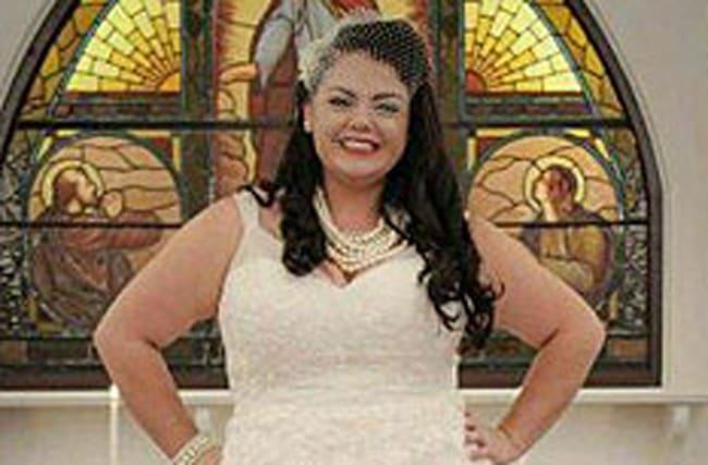 Wife reunited with wedding dress hubby accidentally gave away