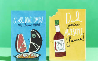 The Father's Day cards your dad can eat