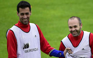 Luis Enrique thrilled as Busquets, Iniesta return to training