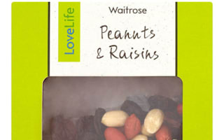 Waitrose recalls packs of potentially deadly snack