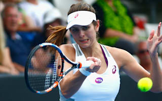Rain leaves Goerges waiting on final opponent