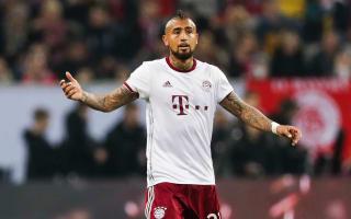 Bayern hoping for speedy Vidal return