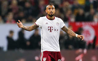 Bayern hoping for speedy Vidal return