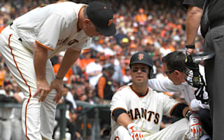 Giants place Posey on disabled list after fastball to helmet