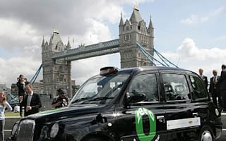 Hydrogen fuel cell black cab unveiled in London