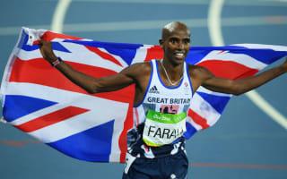 Olympic champion Farah criticises Trump's travel ban