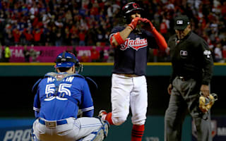 Indians strike first against Blue Jays
