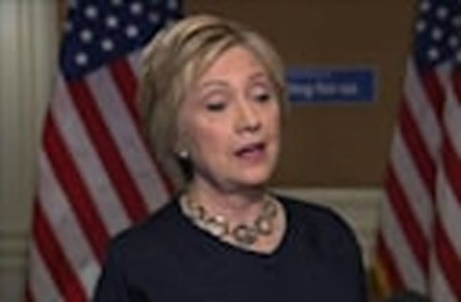 Clinton Says GOP To Nominate 'Loose Cannon'