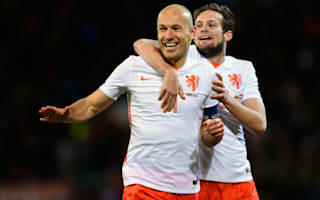 Wales 2 Netherlands 3: Robben nets double in away win
