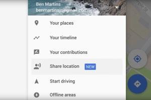 Tus amigos podrán saber dónde estás con la nueva función de Google Maps