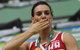 Rio 2016: Isinbayeva elected to IOC athletes' commission