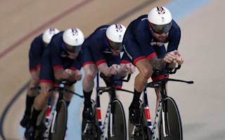 Wiggins wins British record eighth Olympic medal with team pursuit gold