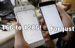 Actualizar un iPhone de 16 a 128 GB en China sale muy barato