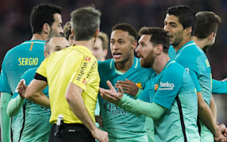 'They need help' - Luis Enrique defends officials