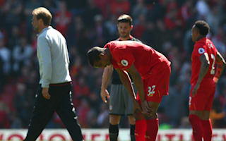 Time-wasting and a dry pitch - Klopp reluctantly offers excuses for Liverpool draw