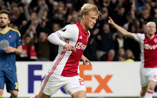 Dolberg is the next Van Basten, says Ajax star's father