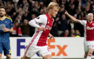 Dolberg is the next Van Basten, says Ajax star's father