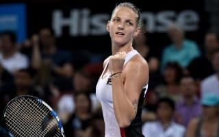 Pliskova and Cornet through to Brisbane final