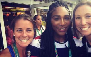 Fellow Olympians star-struck by Serena, Phelps, NBA stars