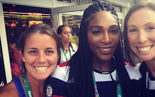 Fellow Olympians star-struck by Serena, Phelps, NBA stars