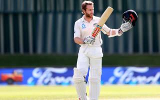 Williamson scores century as first Test in balance