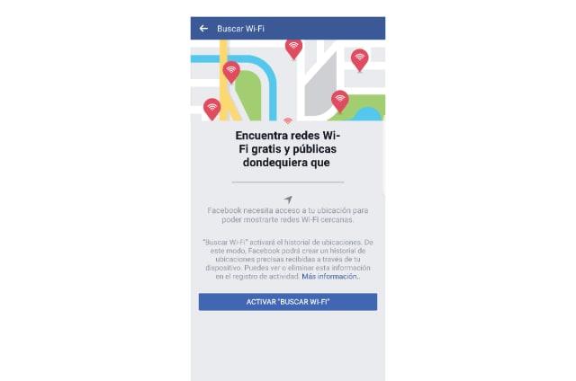 Ya puedes encontrar redes WiFi gratuitas con Facebook