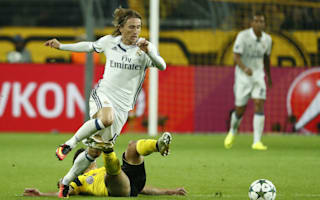 Zidane urges patience with Modric injury