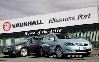 Vauxhall's UK factories close for a week