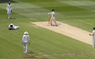 Azhar 'fine' after taking blow to the head
