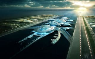 Space station or airport? Futuristic plans for 'Boris Island' unveiled