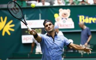 Federer reaches last eight in Halle, injury concern for Nishikori