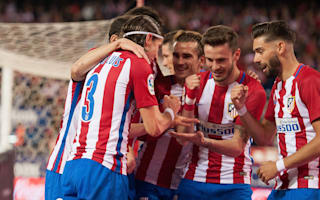 Atletico Madrid 1 Real Sociedad 0: Filipe Luis secures fifth successive win
