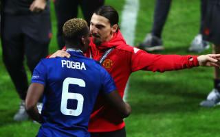 He will always be Zlatan - Pogba backs Ibrahimovic to return strongly