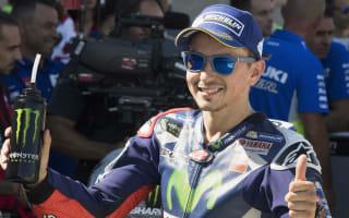 Warm-up crash secured second position - Lorenzo