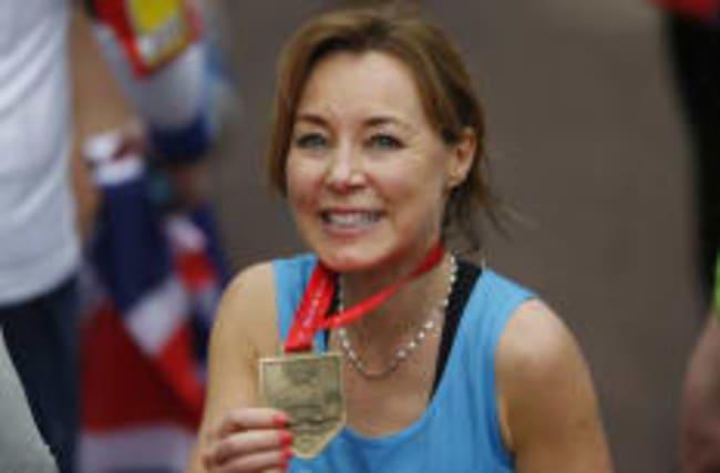 Sian overjoyed to complete marathon after cancer battle