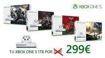 La Xbox One S de 1 TB está a mejor precio que nunca