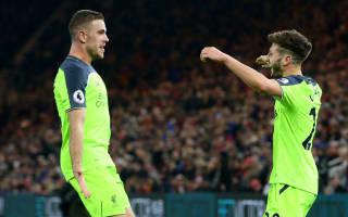 Henderson and Lallana nearing returns - Klopp