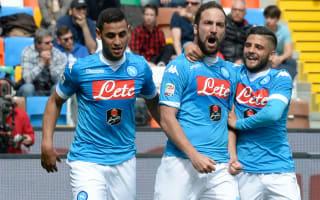 Higuain is half the Napoli team, warns Bagni