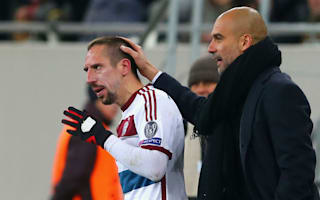 Guardiola tips Ribery to extend Bayern stay