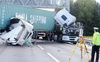 Rubberneckers could be prosecuted for photographing lorry crash
