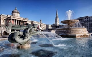 London's iconic fountains hit by hosepipe ban