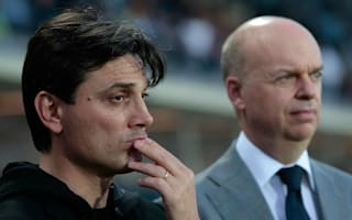 I feel the club's trust, I will be the coach next year - Montella sure of AC Milan future