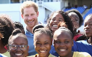 Prince Harry arrives in Antigua as part of his Caribbean tour