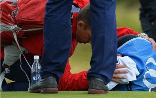 Caddie Ciplinski discharged after being struck by golf ball