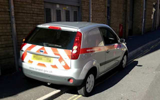 Double standards traffic warden caught on double yellows