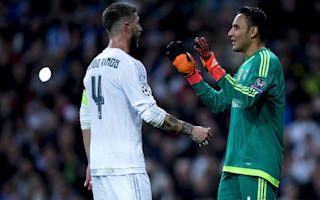 Giving up is not worthy of Real Madrid - Navas