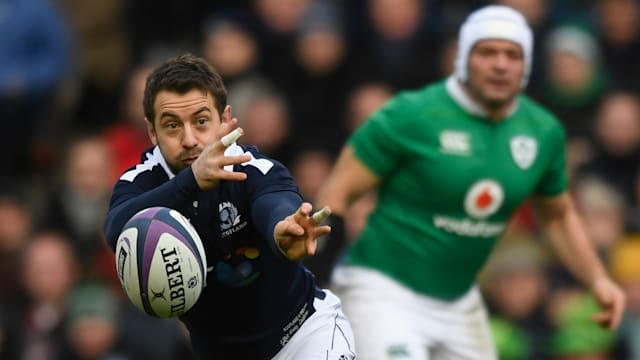 Scotland skipper Greig Laidlaw to miss remainder of Six Nations