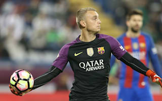Cillessen out for two weeks with calf injury