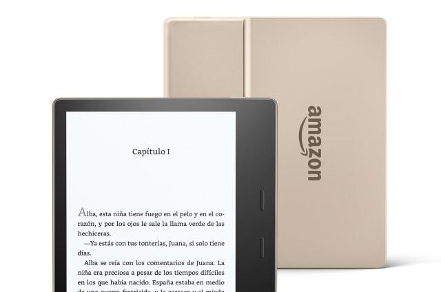 El Kindle Oasis Champagne Gold demostrará a todo el mundo lo sibarita que eres