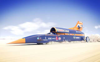 Bloodhound supersonic land speed car set for Newquay
